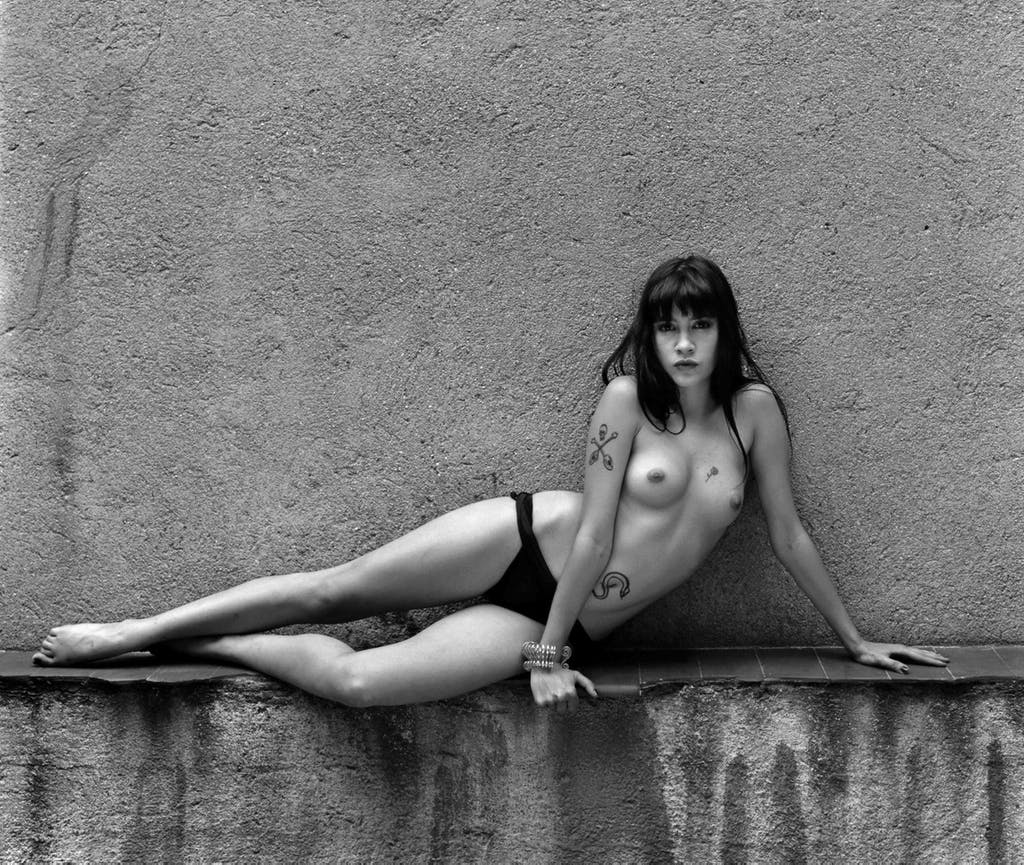 Elena Mar, odalisca en mi patio - © kamel mennour