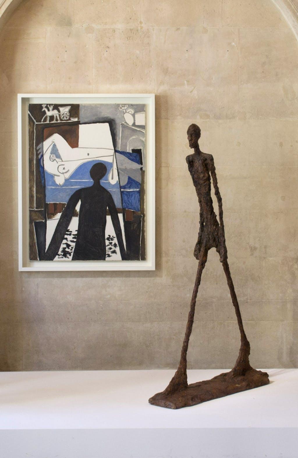 Exhibition view, Musée National Picasso, Paris - © kamel mennour