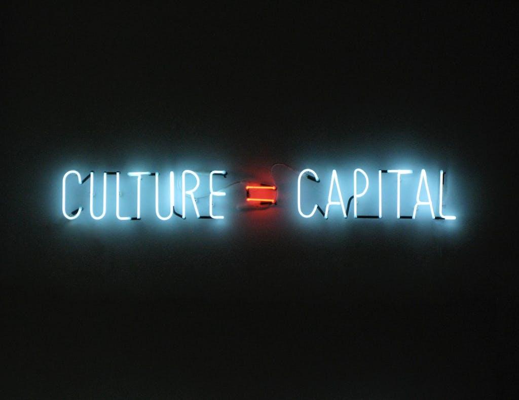 Culture = Capital - © kamel mennour
