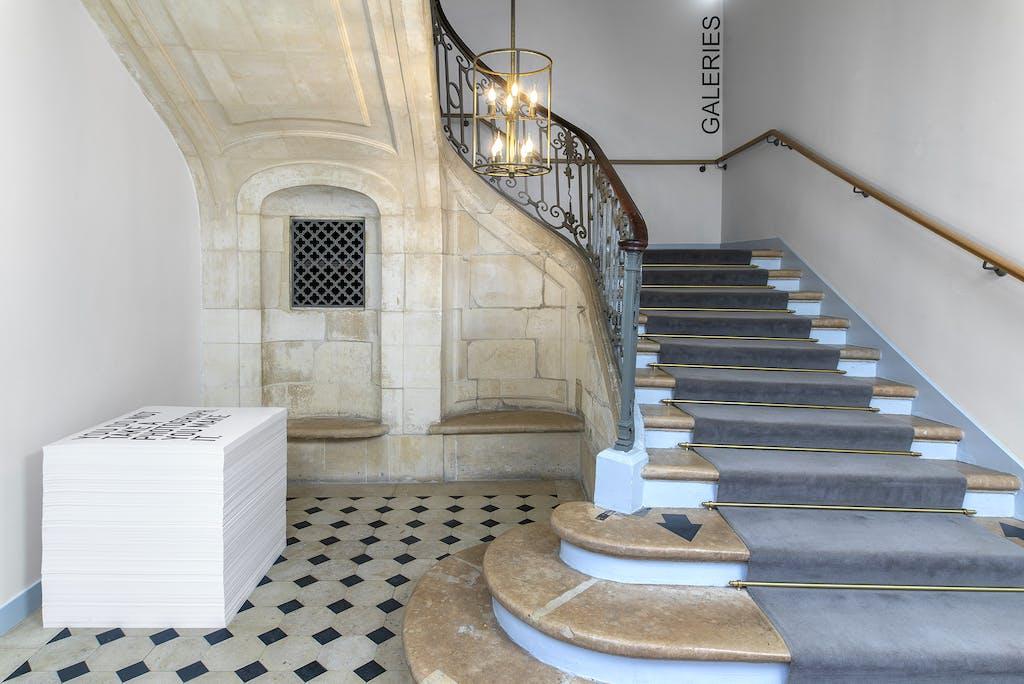 Installation view, Maison Européenne de la Photographie, Paris - © kamel mennour
