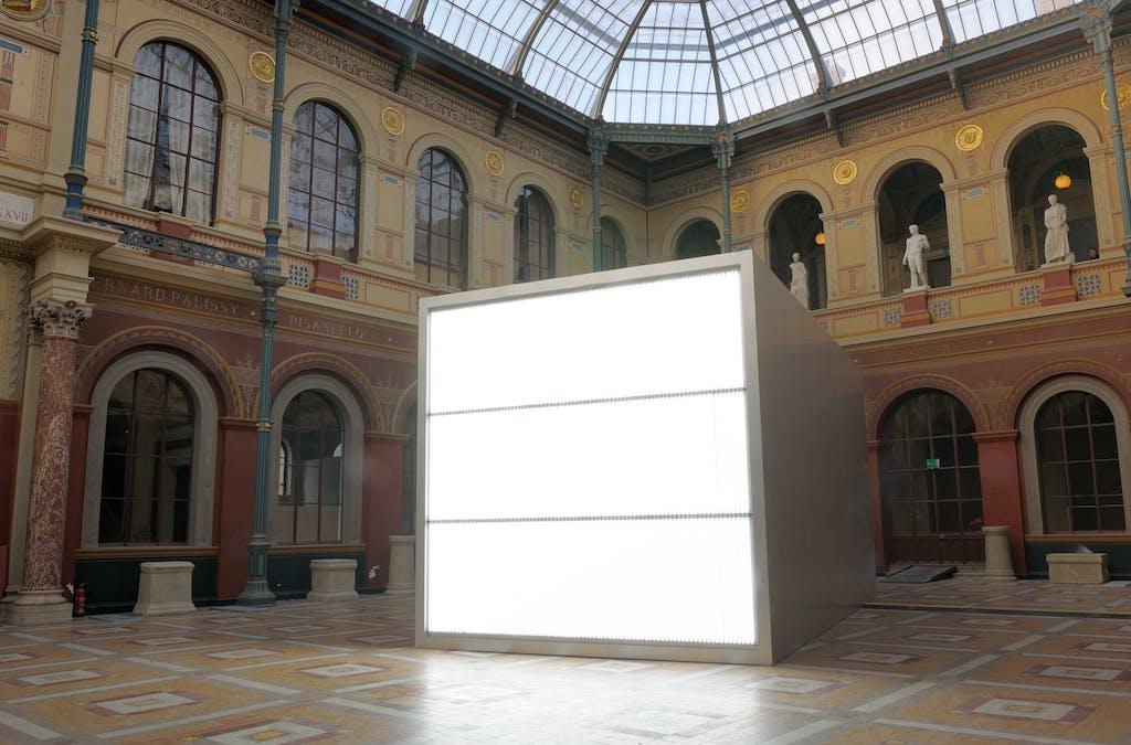 The Sound of Silence, Ecole Nationale Supérieure des Beaux-Arts de Paris, France - © kamel mennour