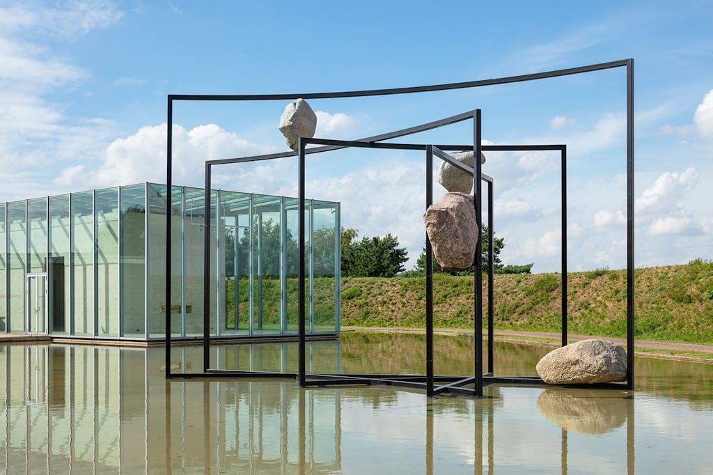 Exhibition view, Langen Foundation, Neuss - © kamel mennour