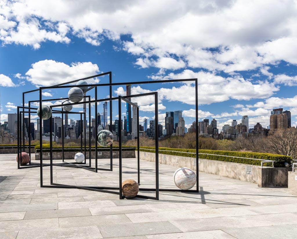 Exhibition view, Metropolitan Museum, New York - © kamel mennour