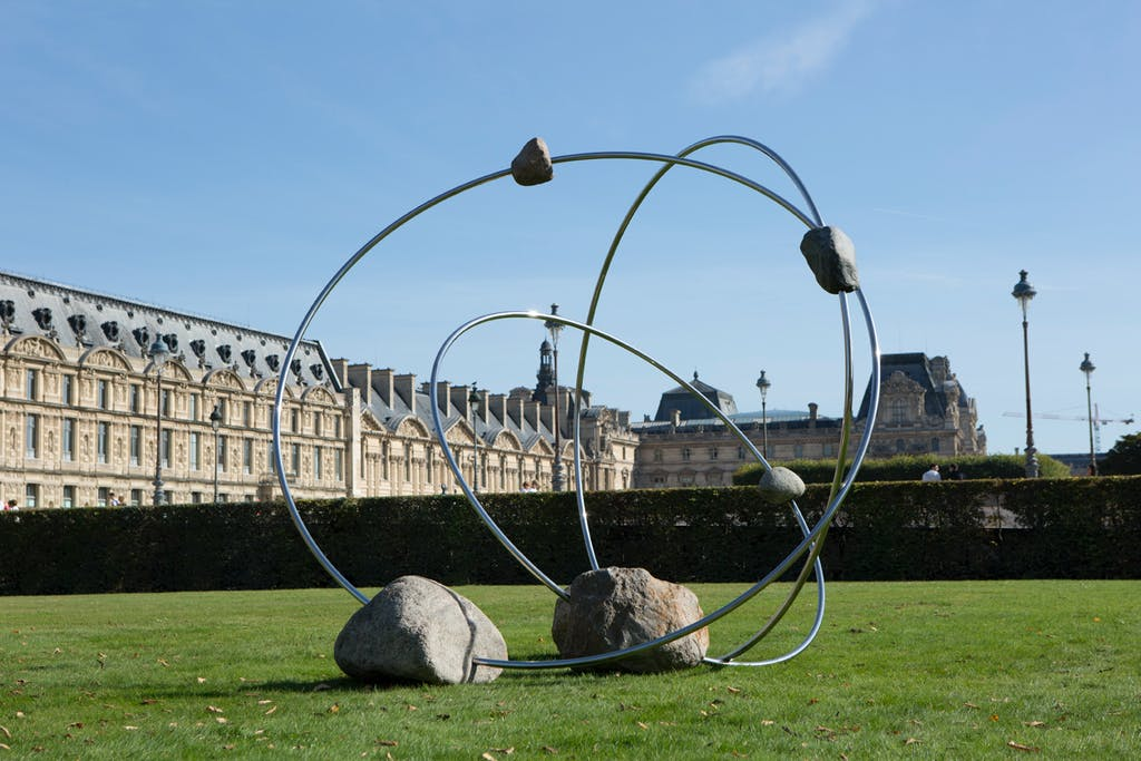 Exhibition view, Tuileries, Paris - © kamel mennour
