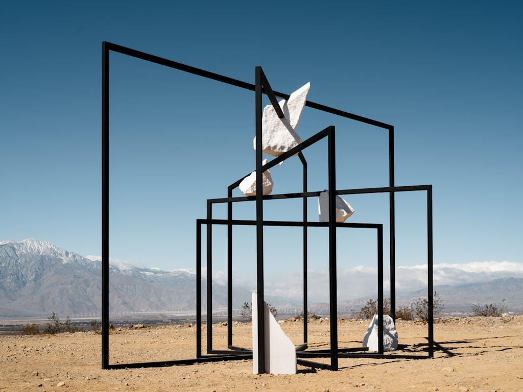 Installation view, Desert X, Coachella Valley - © kamel mennour