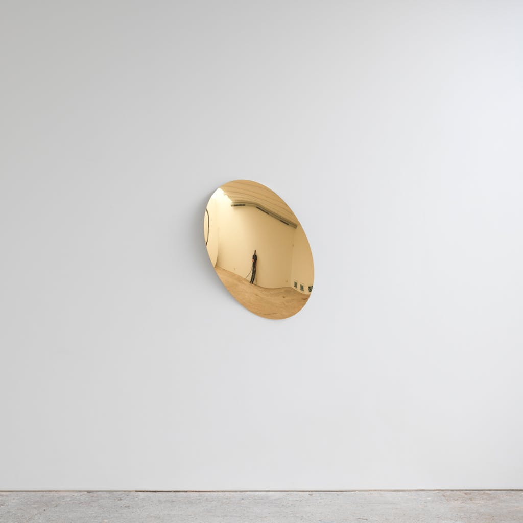Mirror (Gold) - © kamel mennour