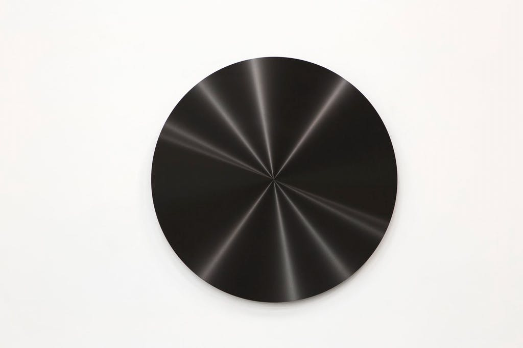 Disque noir - © kamel mennour