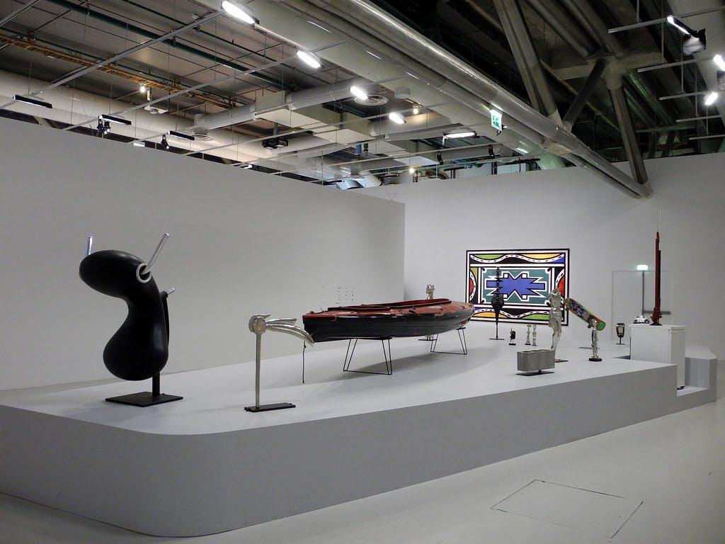 Exhibition view, Centre Pompidou, Paris - © kamel mennour