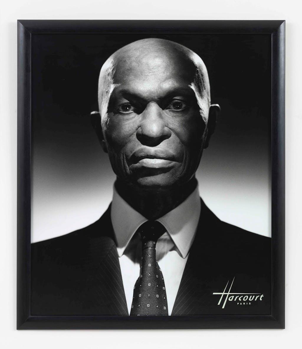 Harcourt/Grévin n°3 [Président Wade] - © kamel mennour