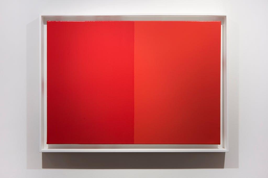 Rouge Géranium par Duco et Ripolin - © kamel mennour