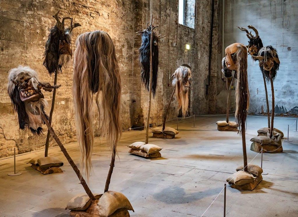 Exhibition view, Venice Biennale, Venice - © kamel mennour