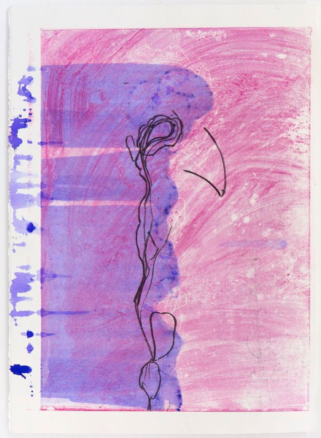 Shadow Over Pink Coat - © kamel mennour
