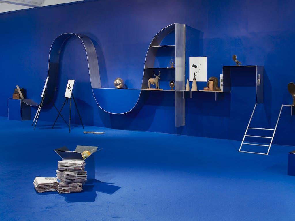 Exhibition view, Chisenhale Gallery, London - © kamel mennour
