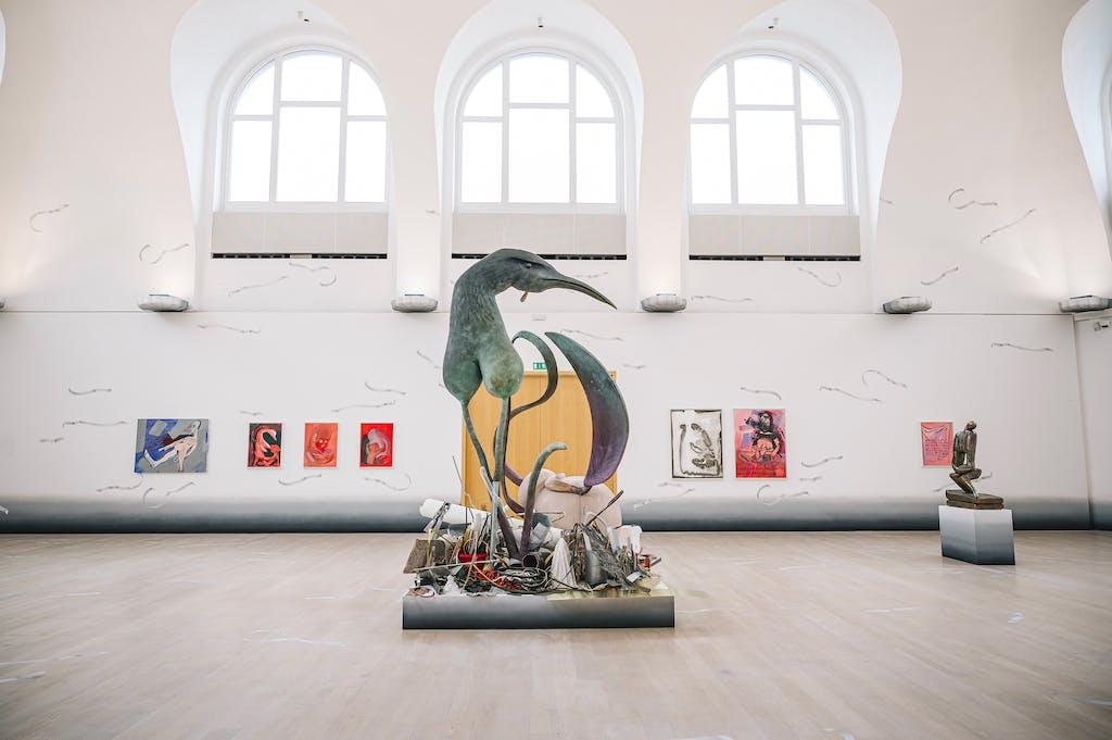 Exhibition view, Kestner Gesellschaft, Hanover - © kamel mennour