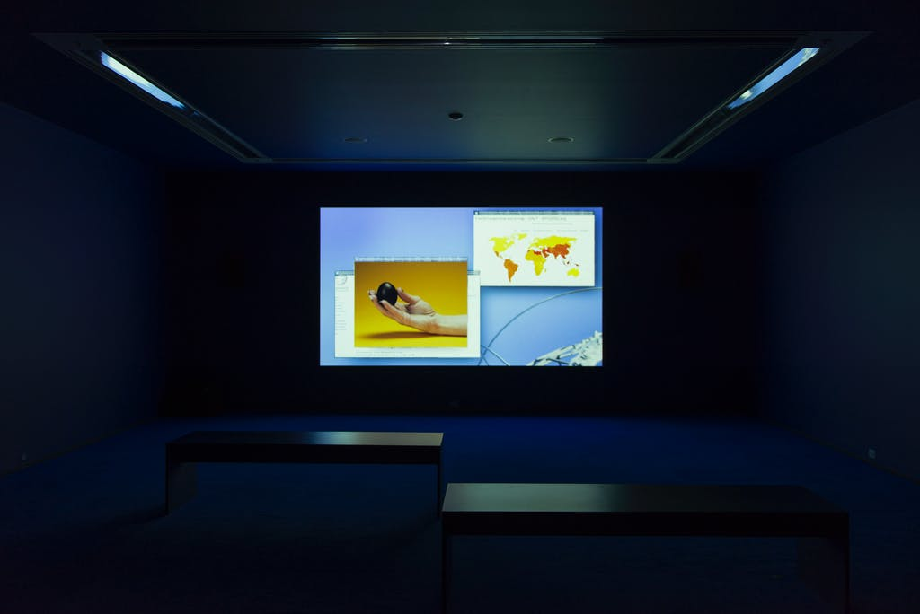 Exhibition view, MCA Chicago - © kamel mennour