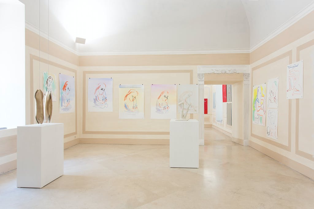 Exhibition view, Museo MADRE, Naples - © kamel mennour