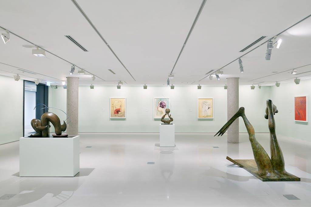 Exhibition view, National Gallery of Victoria, Melbourne - © kamel mennour