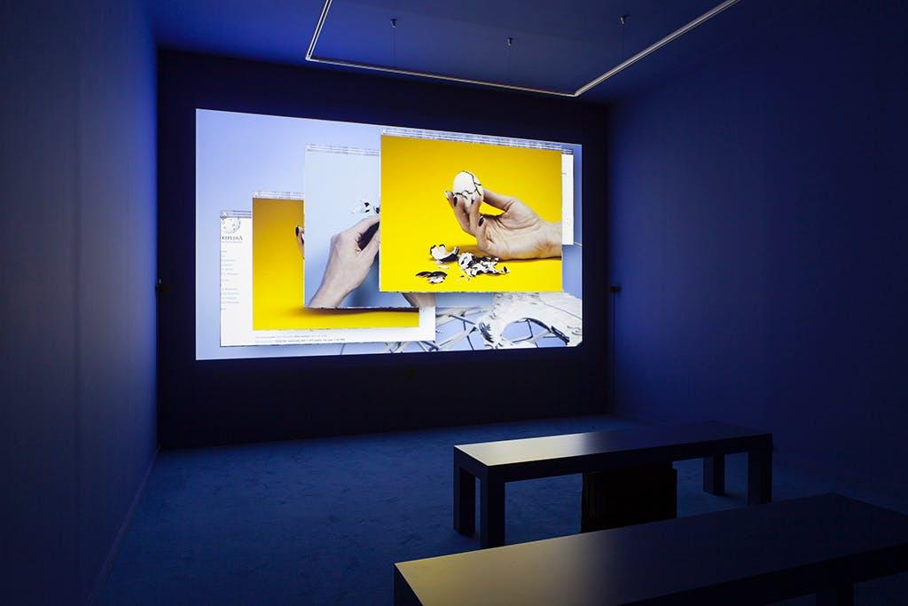 Exhibition view, Nouveau Musée National de Monaco - © kamel mennour