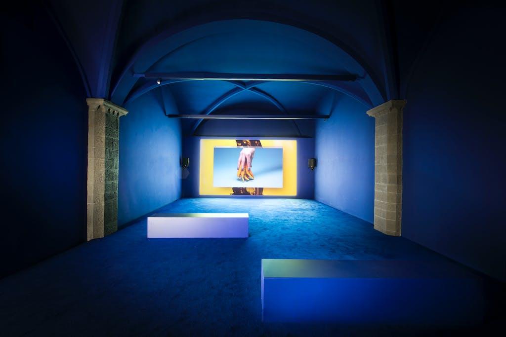 Exhibition view, Gucci Museo, Florence - © kamel mennour
