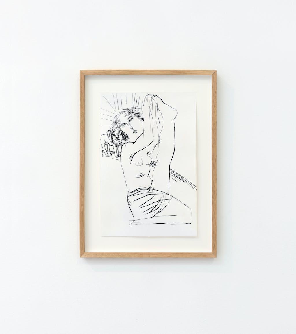 """Sainte Blandine (série """"Légendes dorées"""") - © kamel mennour"""
