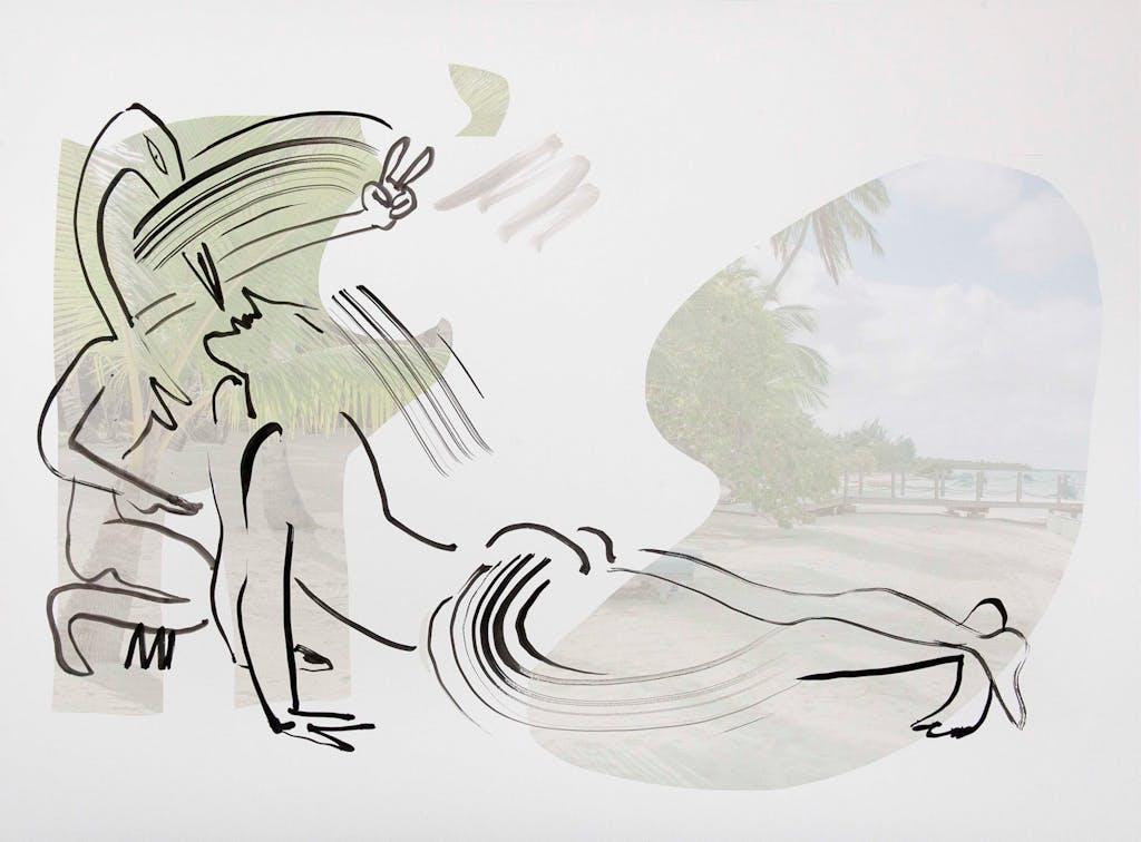 "Untitled  (""Tropics of Love"" series) - © kamel mennour"