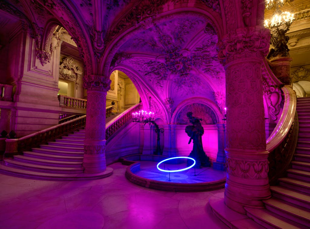 Exhibition view, Palais Garnier - © kamel mennour