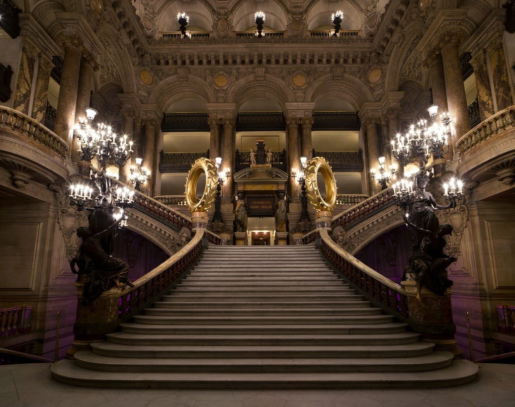 Exhibition view, Palais Garnier, Paris - © kamel mennour