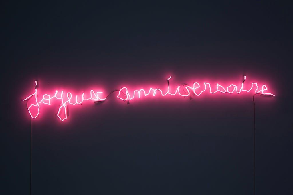 joyeux anniversaire - © kamel mennour