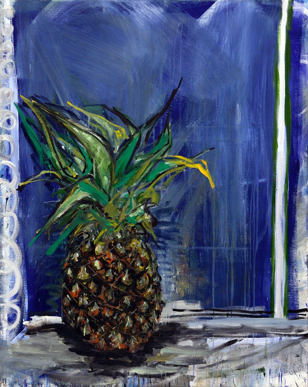 Windows and ananas 4 - © kamel mennour