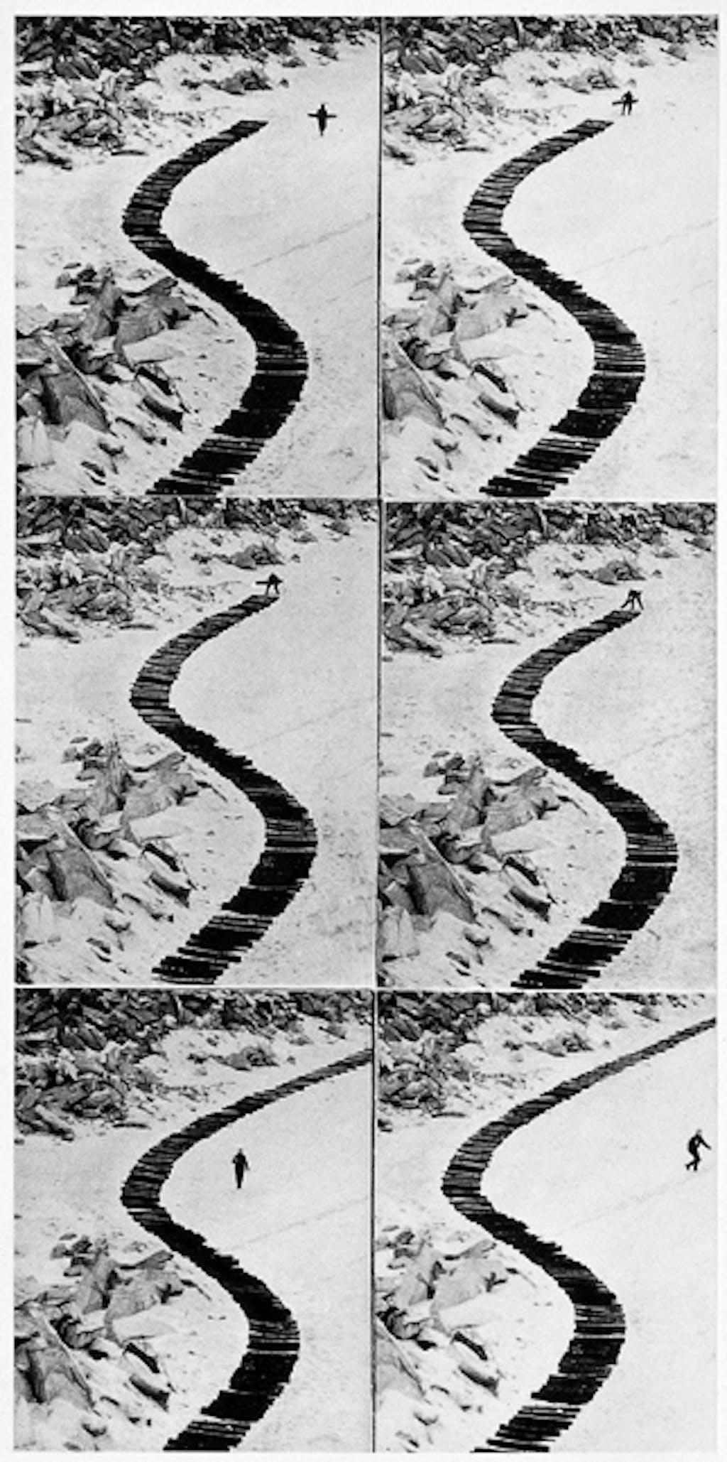 Continuation d'un chemin de bois - © kamel mennour