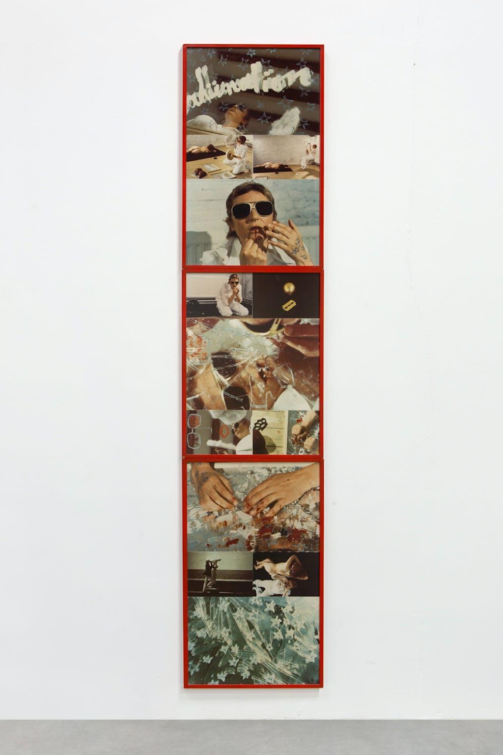 Discours mou et mat, 1975 Constat de l'action réalisée à la galerie De Appel à Amsterdam - © kamel mennour