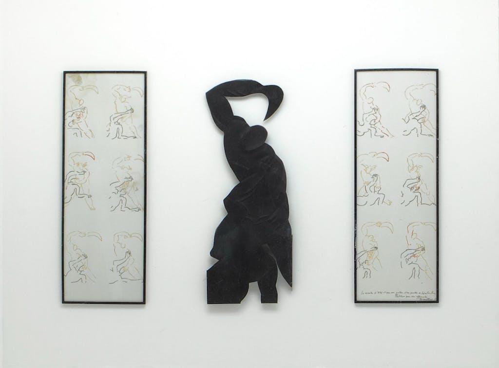 Le Meurtre d'Abel d'après une posture de Salvatore Rosa - Partition pour une offrande - © kamel mennour