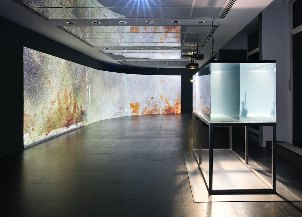 Exhibition view, Frankfurter Kunstverein, Frankfurt - © kamel mennour