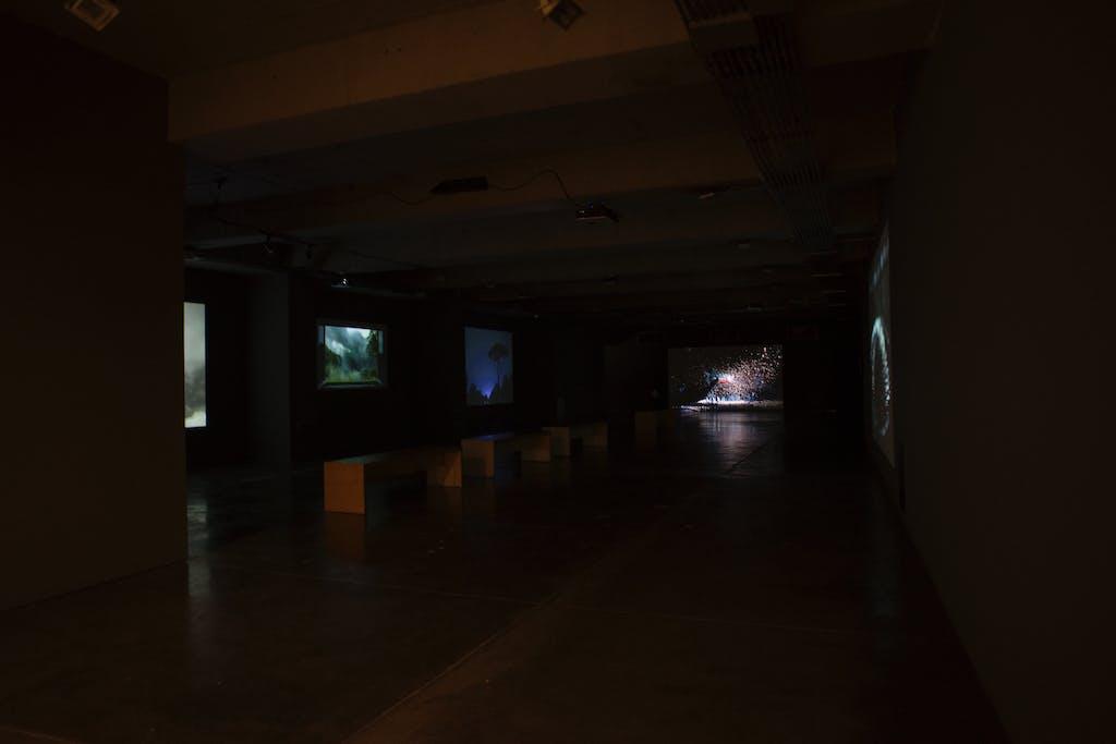 Exhibition view, MAMU, Bogota - © kamel mennour