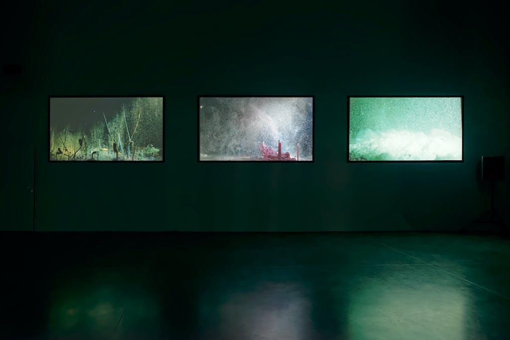 Exhibition view, Micro Onde, Vélizy-Villacoublay - © kamel mennour