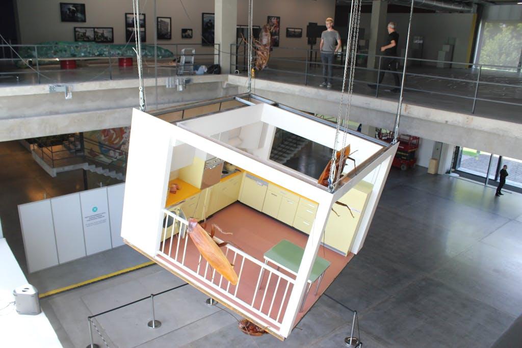 Exhibition view, Garage Museum, Moscow - © kamel mennour