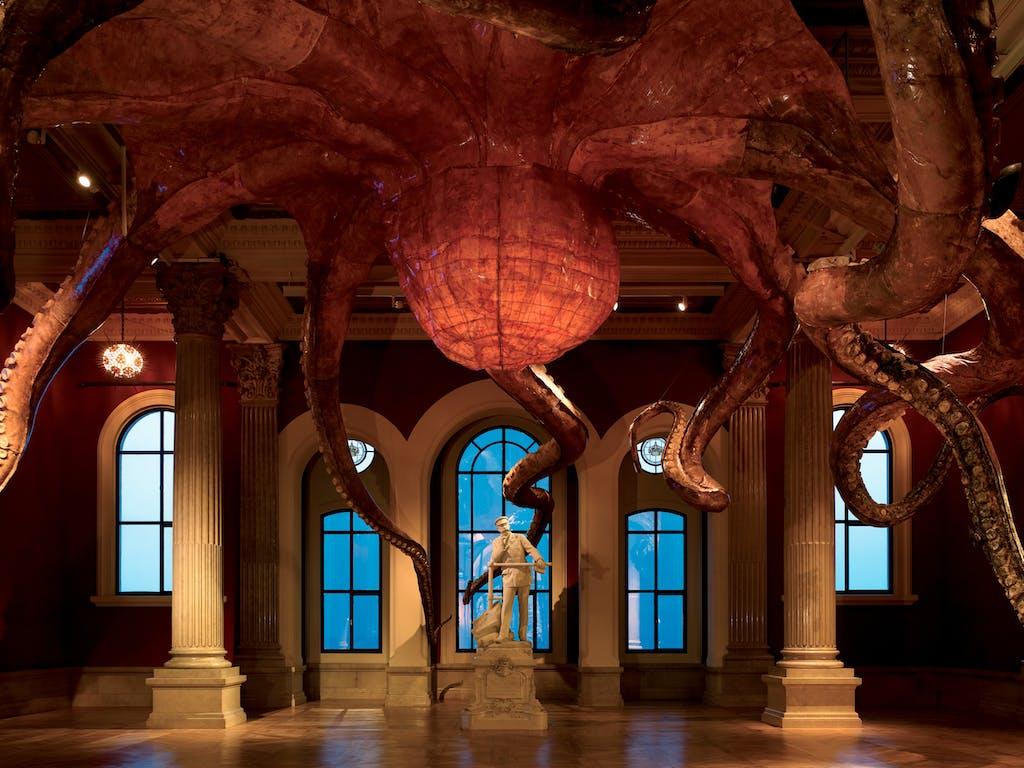 Exhibition view, Musée Océanographique de Monaco - © kamel mennour