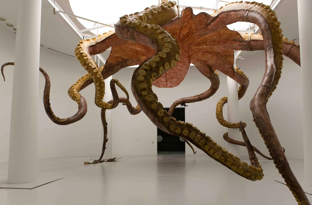 Exhibition view, Qatar Museums Gallery Al Riwaq, Doha - © kamel mennour