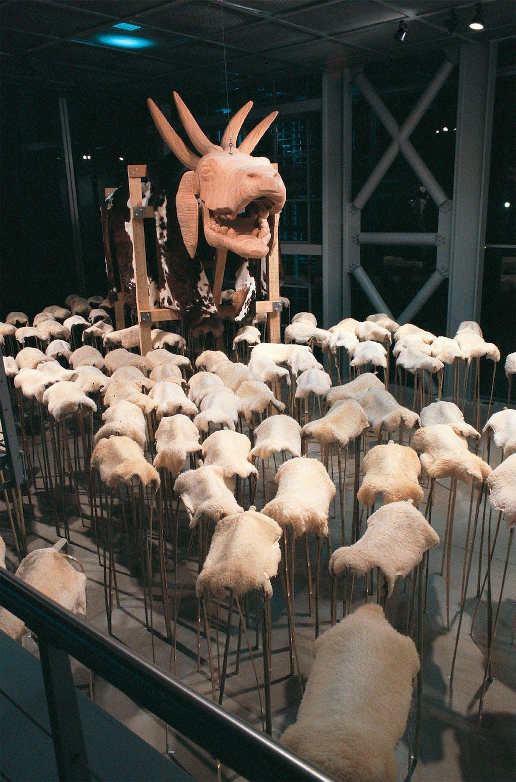 Péril de Mouton - © kamel mennour
