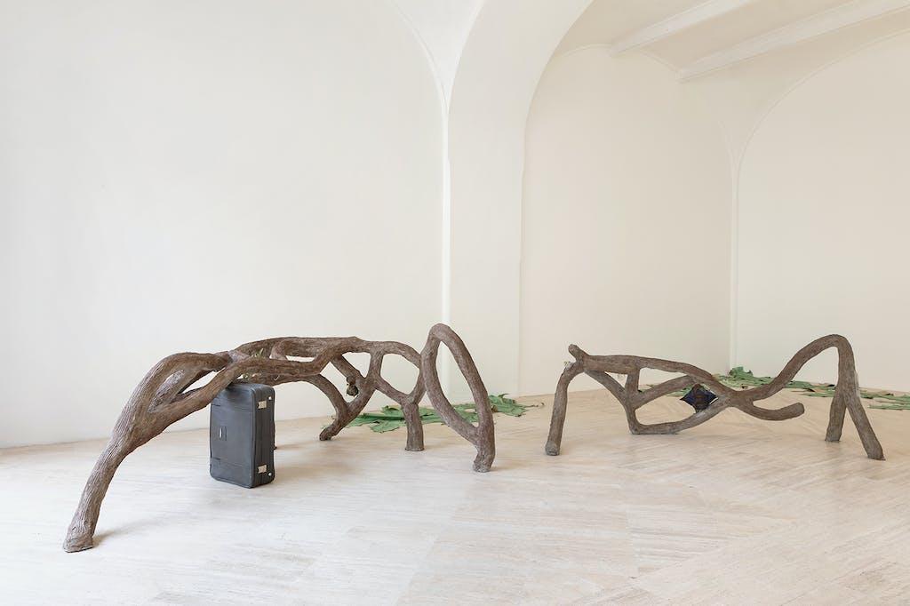 Exhibition view, Fondazione Memmo, Rome - © kamel mennour