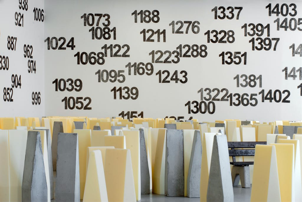 Exhibition view, Kunsthalle Fridericianum, Kassel - © kamel mennour