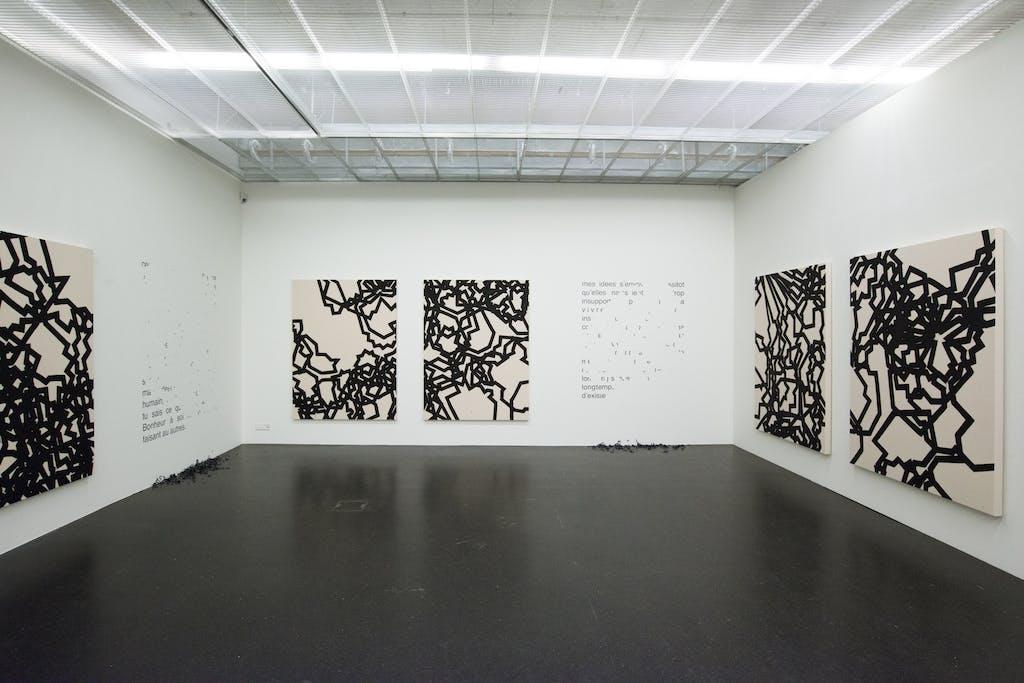 Exhibition view, Lentos Art Museum, Linz - © kamel mennour