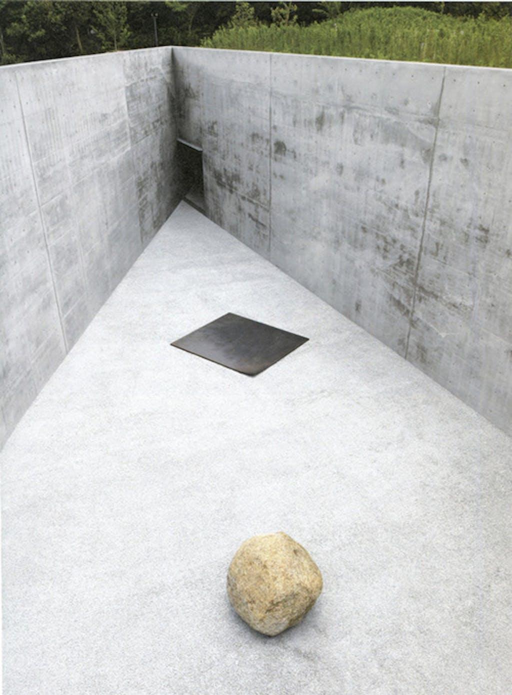 Installation view, Lee Ufan Museum, Naoshima - © kamel mennour
