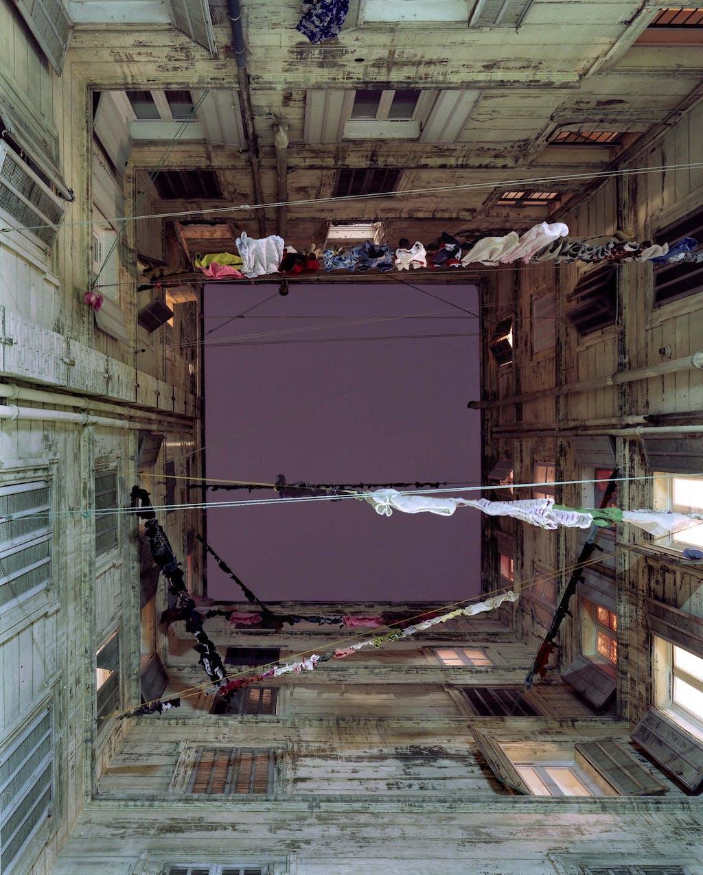 Cour intérieure, 28 septembre 2008 - © kamel mennour