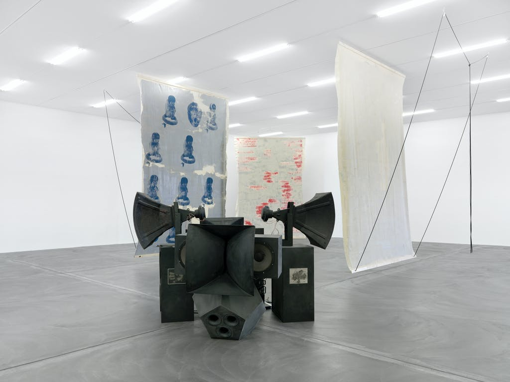 Exhibition view, Kunsthalle Zürich - © kamel mennour