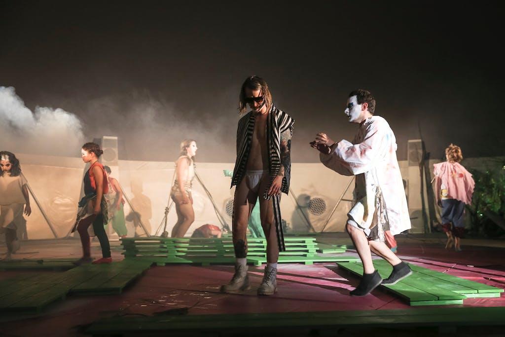 Performance, MoMA PS1, NYC - © kamel mennour