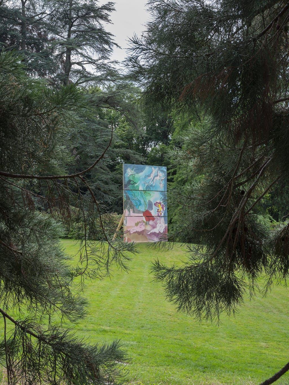 Installation view, Sculpture Garden, Geneva Biennale - © kamel mennour