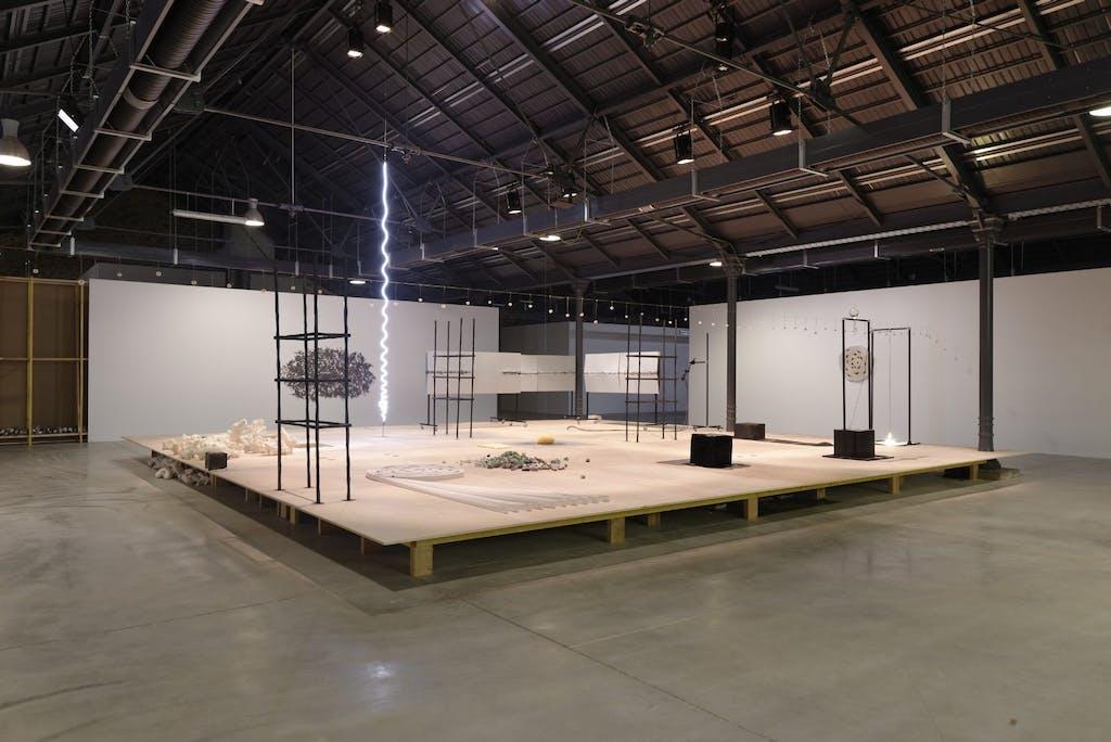 Exhibition view, Biennale d'Art Contemporain de Rennes - © kamel mennour