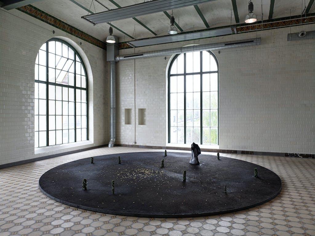 Exhibition view, WIELS, Brussels - © kamel mennour