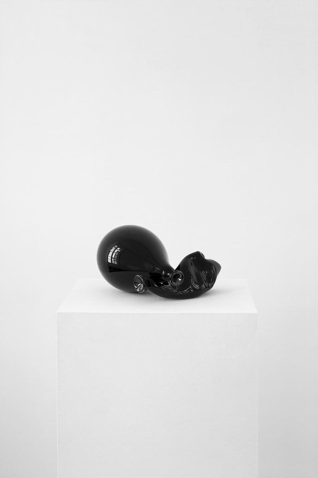 Souffles dans le verre (noir) - © kamel mennour